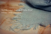 "Image of Burlap Layer ""Powder Blue"" BL13001"