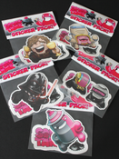 Image of 30 Days of Squids: Episode 2 Stickers - Individuals Pack 1