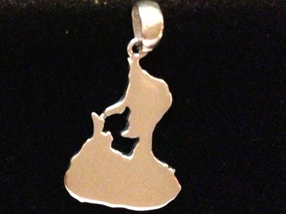 Image of The Block Island Pendant. LARGE