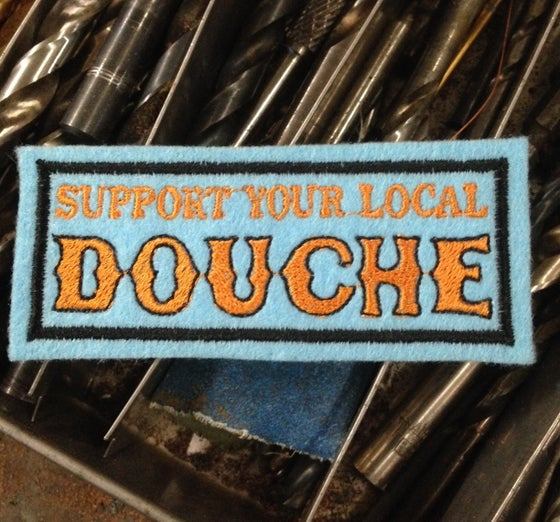 Image of Support your Local Douche Patch