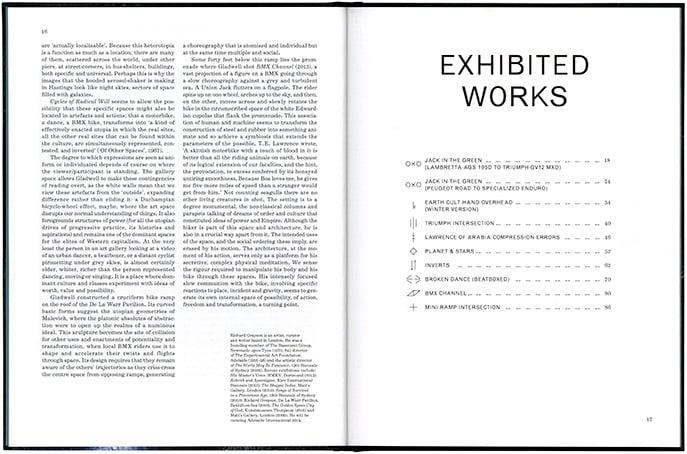 Image of Shaun Gladwell 'Cycles of Radical Will' (Hardback)