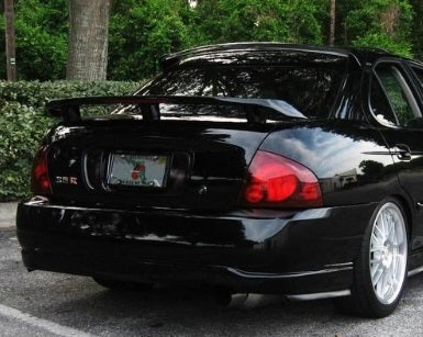 Image of (B15) 00-06 Roof spoiler (STI Style)
