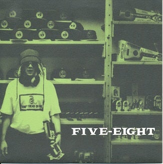 "Image of Five Eight - ""Accessorize / Doubter"" 7"" Vinyl Single - 1995"