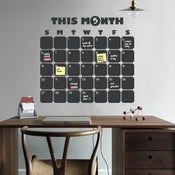 Image of Daily Planner Chalkboard Wall Decal