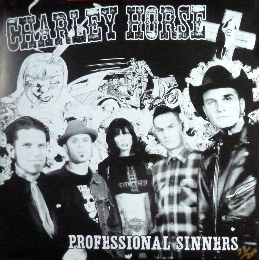 Image of Professional Sinners Black Screen Printed LP