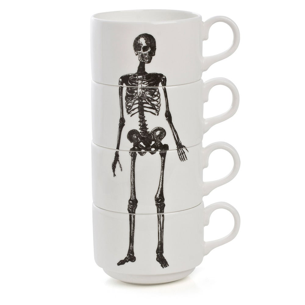 Image of Stacking Skeleton Coffee Cups