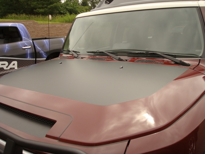 Toyota FJ Cruiser Hood Blackout 2006-current
