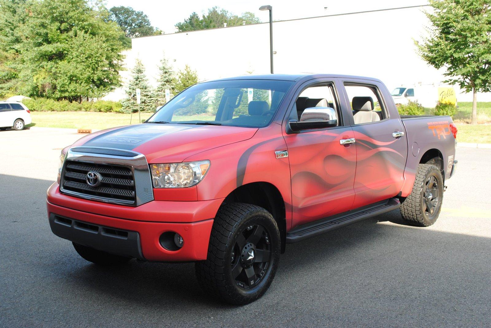Toyota Tundra Hood Blackout 2007-2013