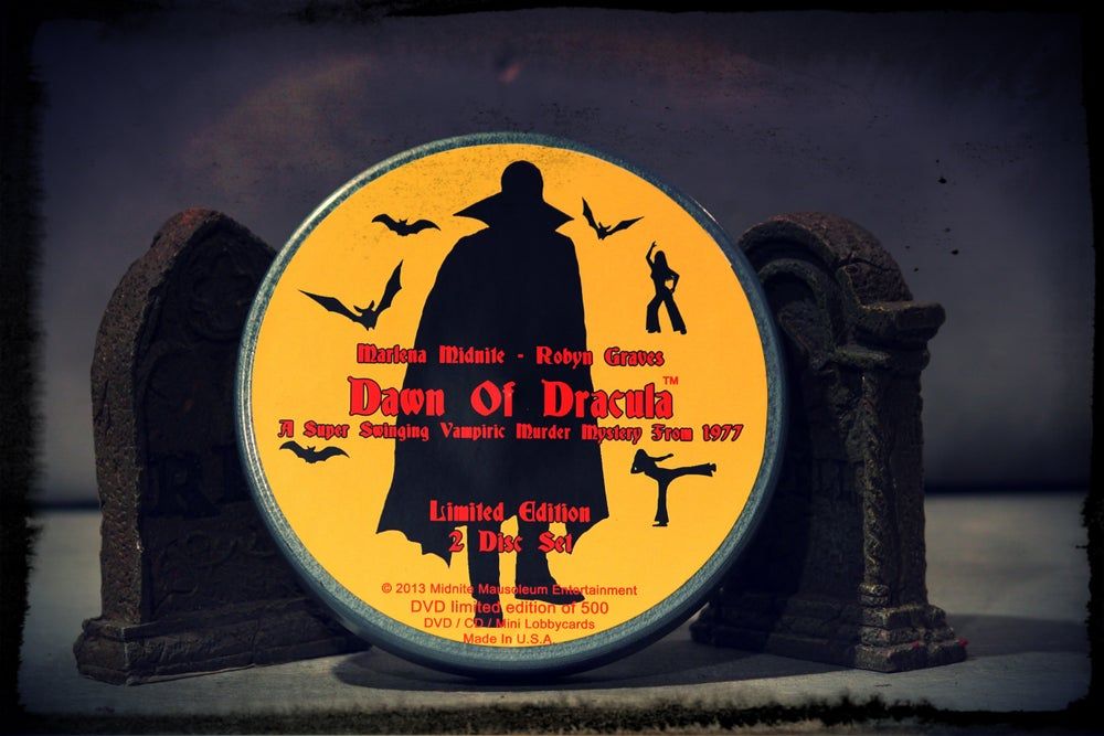 Image of Limited Edition Dawn of Dracula 2 Disc Blu-Ray Film Can Set!