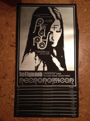 "Image of [ARTPRINT LTD30] Hollywood Necronomicon 19,7x27,5"" / 50x70cm"
