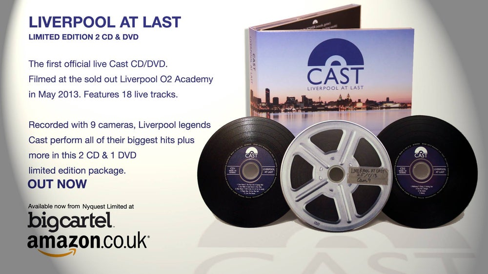 "Cast Live ""Liverpool At Last"" CD/DVD"