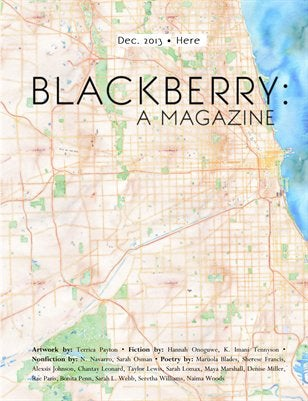 "Image of BLACKBERRY: a magazine, Vol. 2, Issue 3, ""Here"""
