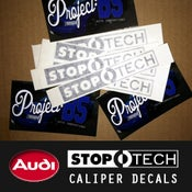 Image of PROJECT:B5 - STOPTECH Caliper Decals *ST40 & ST60