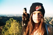 Image of Red VANDAL beanie