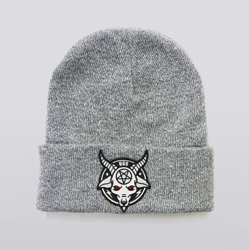 Image of Heather Rams Head Beanie