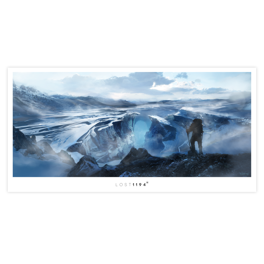 Image of Lost 1194 'Explorer' Giclée Fine Art Print + Digital
