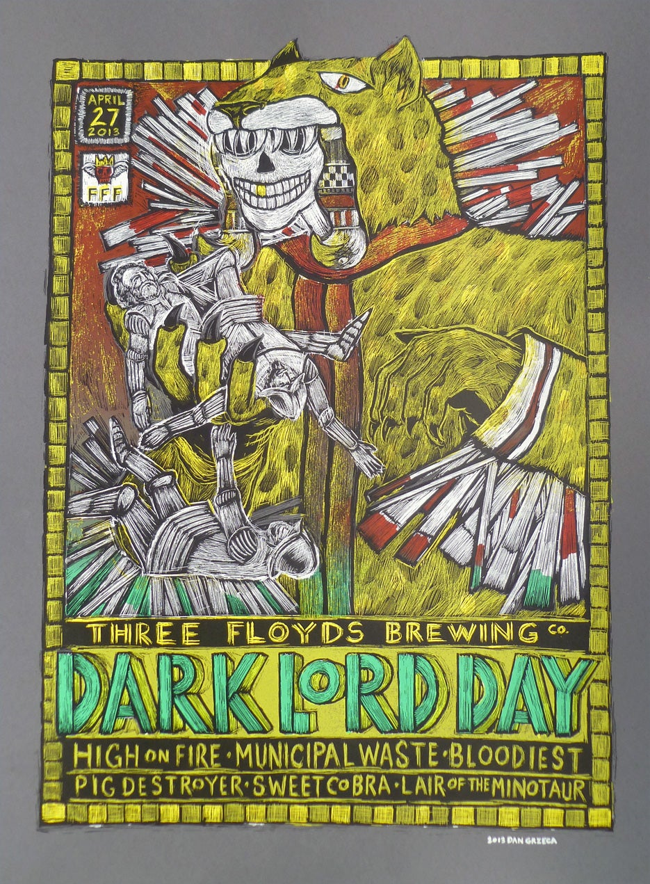 Dark Lord Day 2013 Poster