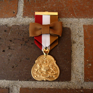 Image of Lion's Crest Military Badge