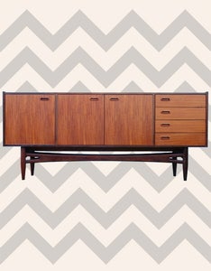 Image of Mid Century Modern African Sideboard by Frystark