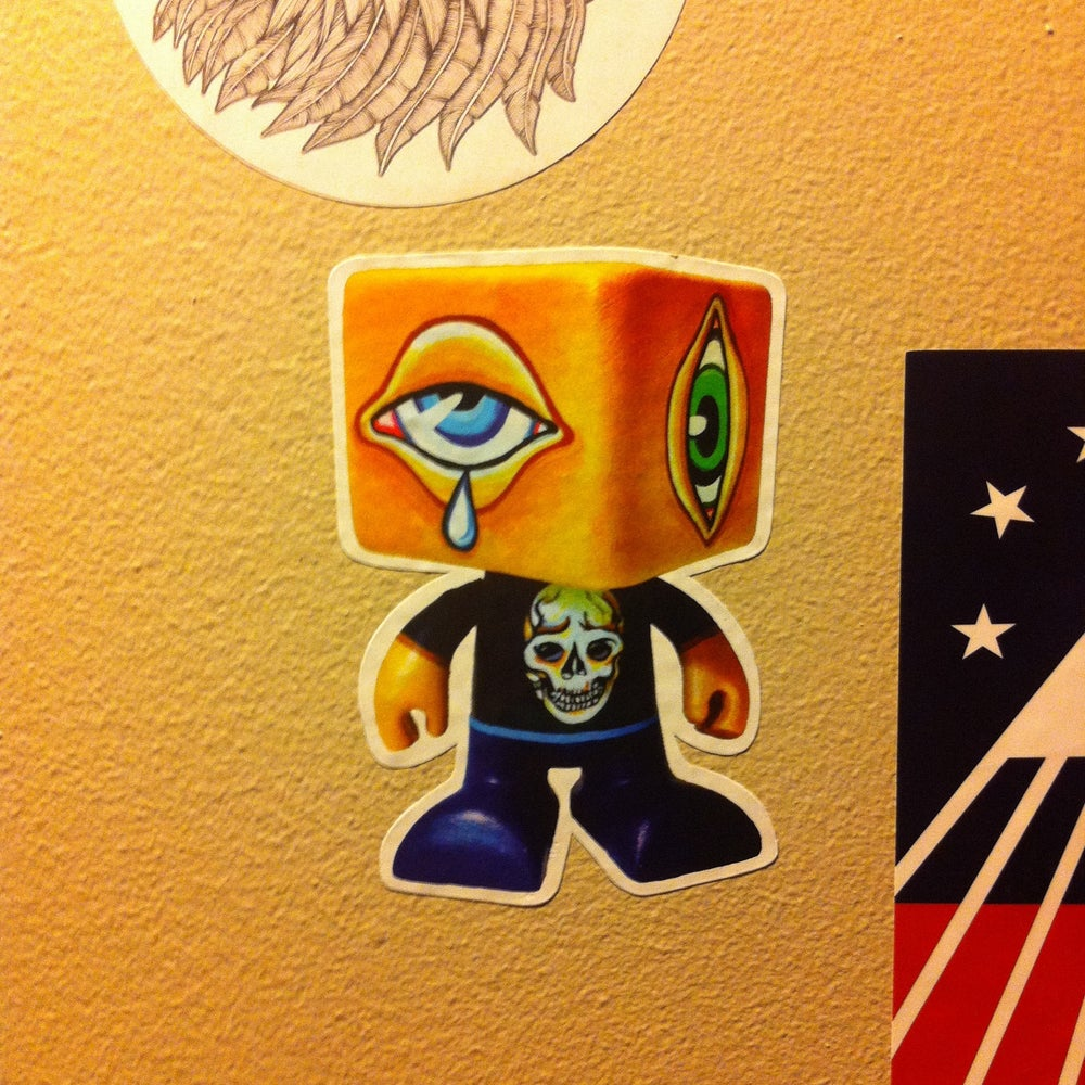 Image of Man-e-eyes Stickers