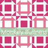 Monkey Business Mini Quilt #106, PDF Pattern