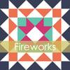 Fireworks Mini Quilt #105, PDF Pattern