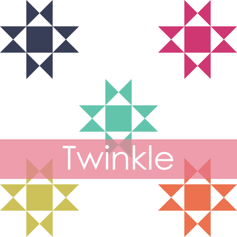 Image of Twinkle Mini Quilt #103, PDF Pattern