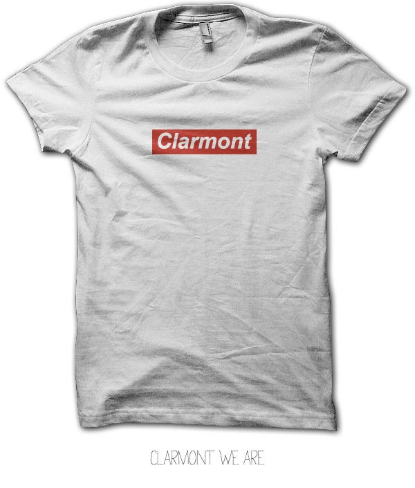 Image of Tee-Shirt<br>CLARMONT WE ARE