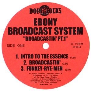 "Image of EBONY BROADCAST SYSTEM ""BROADCASTIN' PART 1"""