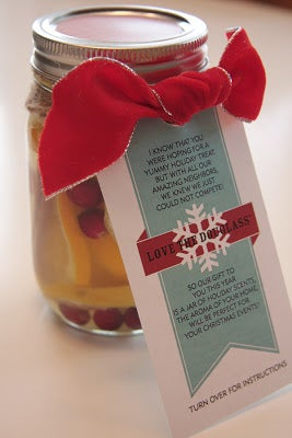 Image of Neighborhood Christmas Gift Tag - Potpourri