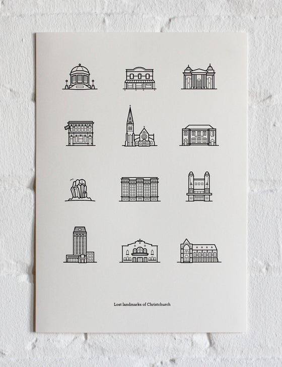 "Image of A4 Print - ""The Anglican"""