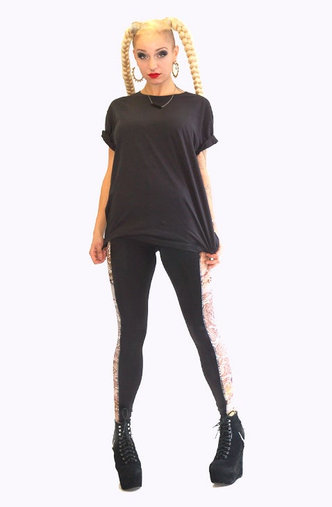 Image of ONEIKA Leggings in Limited Edition LACE Print