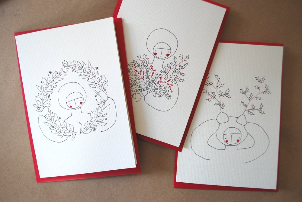 Image of Noël 2013 - lot de 3 cartes
