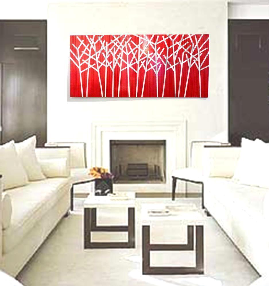 Image of Large Original Painting | Modern Painting | Wood Wall Decor | Painting on Wood