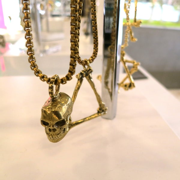 Image of Crackin Skulls Necklace