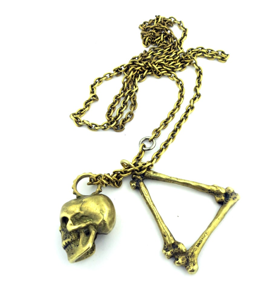Image of Bermuda Triangle Pendant Necklace