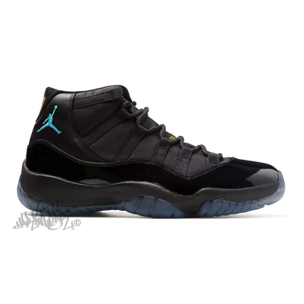 Image of AIR JORDAN 11 RETRO - GAMMA BLUE - 378037 006