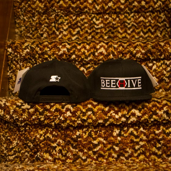 Image of Beehive x Starter Black Label Brand Snapback - Black