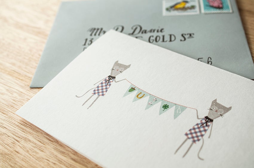 Image of Good Luck Greeting Card