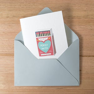 Image of Perfect Match Greeting Card