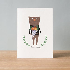 Image of Sorry Greeting Card