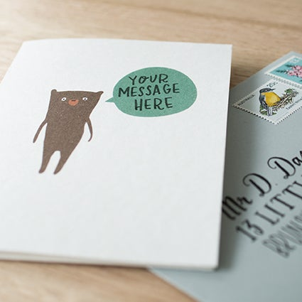 Image of Write-Your-Own-Message Greeting Card