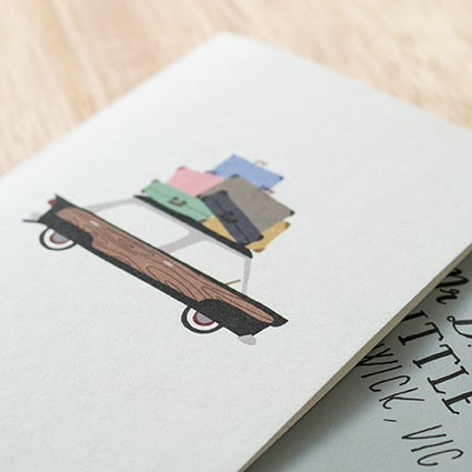 Image of Bon Voyage/Moving House Greeting Card