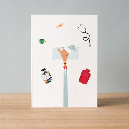 Image of Get Well Greeting Card