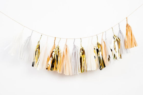 Image of The French Vanilla Tassel Garland