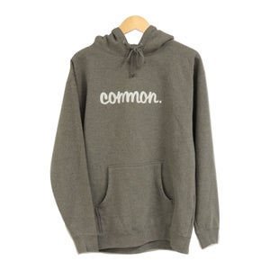 Image of COMMON HEAVYWEIGHT HEATHER HOODIE