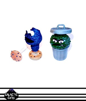 Image of Rob Morrison Glass Cookie Monster Collector Set