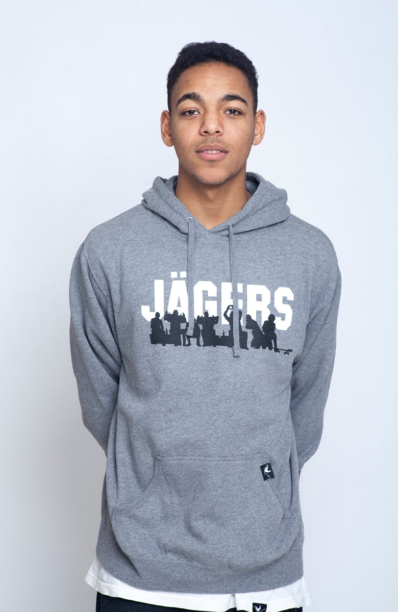 Image of The Crew Hoodie Heather Grey