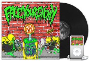 "Image of FACE YOUR ENEMY ""Toxic Vendetta"" 12"" black vinyl"