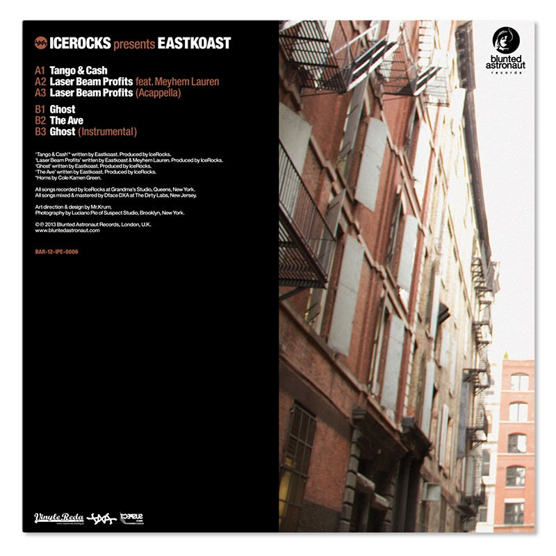 Image of IceRocks Of DXA Presents: Eastkoast - Ghost // 12""
